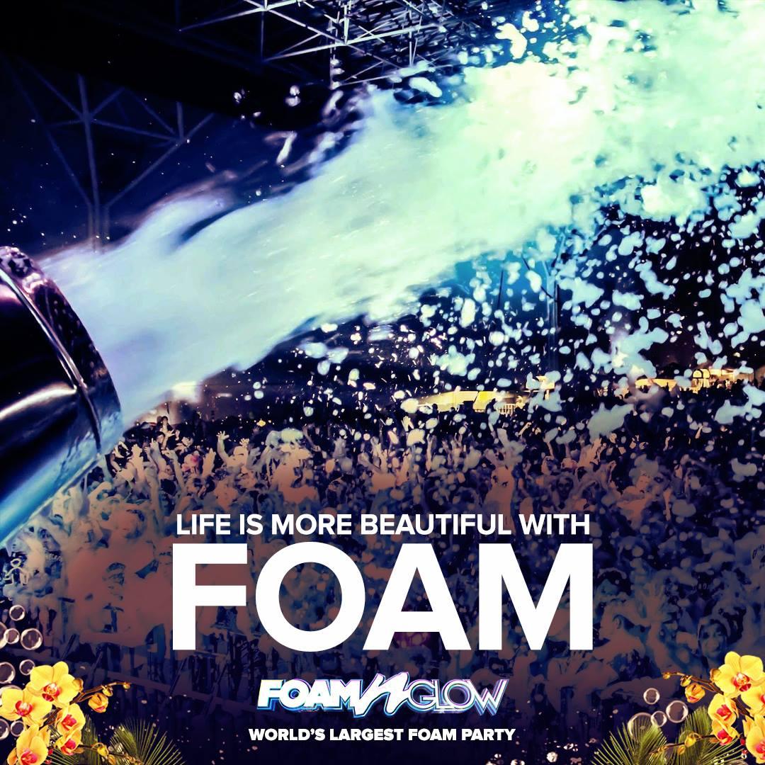 Foam N Glow Dallas Texas