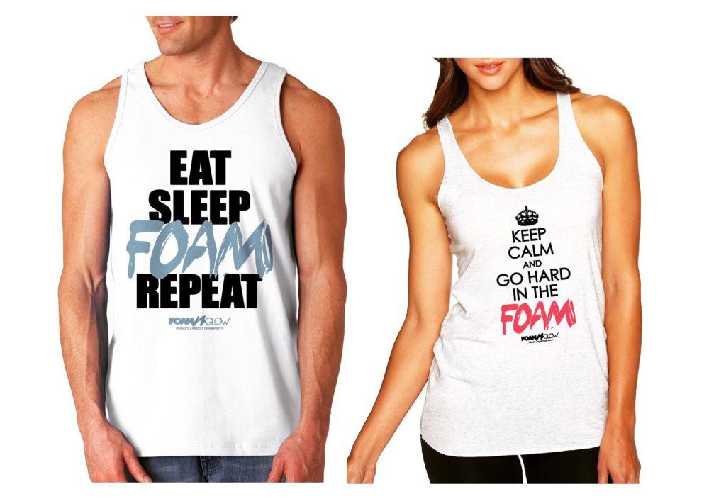 Foam N Glow Merchandise