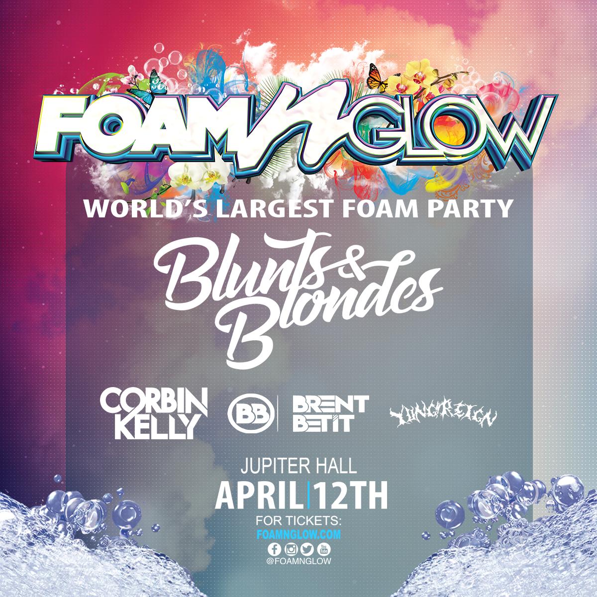 Foam N' Glow Albany NY Flyer Spring 2019